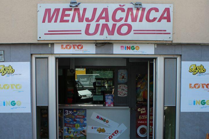 Menjačnica Uno Kafe